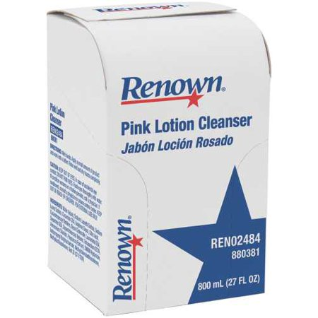 RENOWN 800 ML BAG-IN-BOX PINK LOTION SOAP REFILL per 7