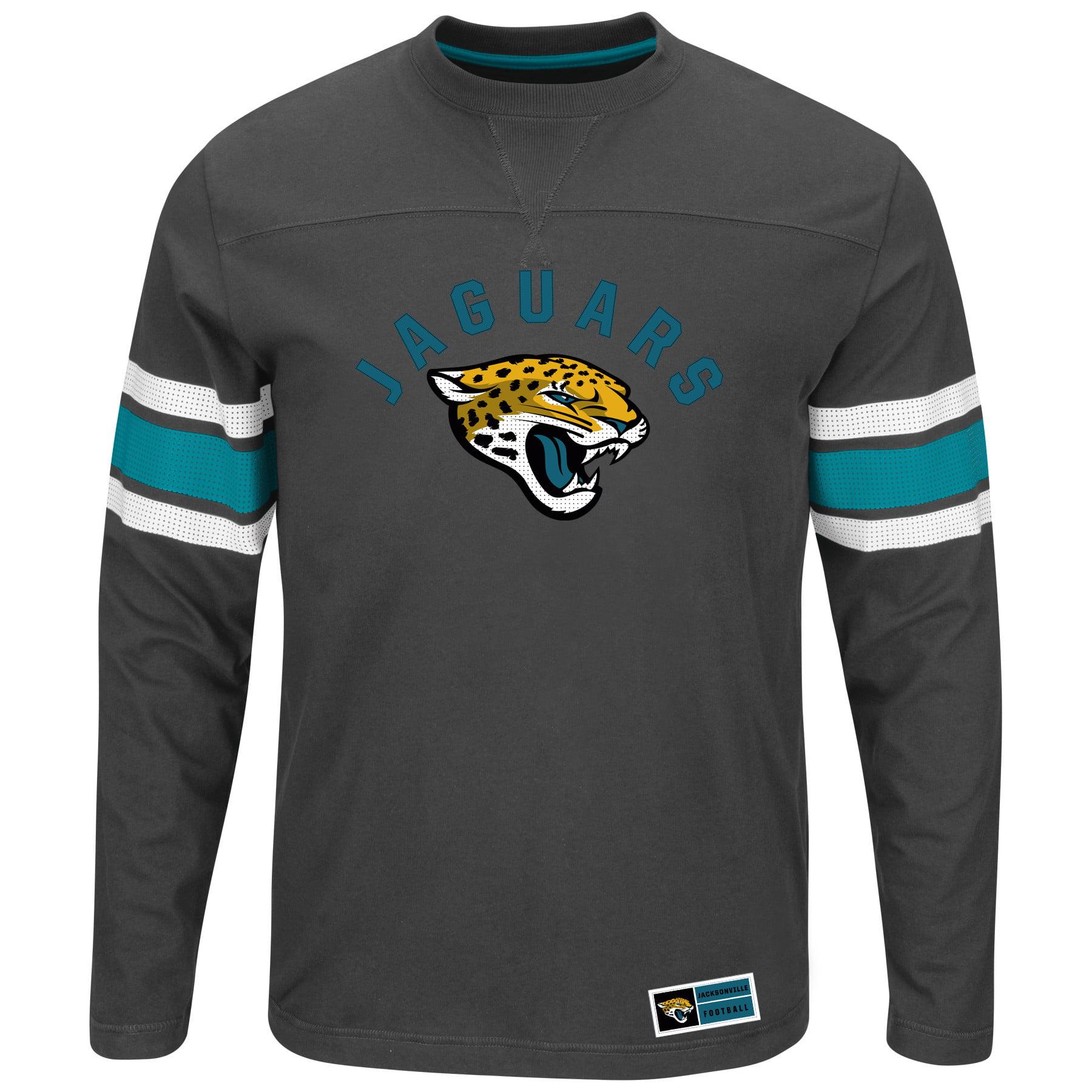 Jacksonville Jaguars Majestic Power Hit II Long Sleeve T-Shirt - Black - XXL