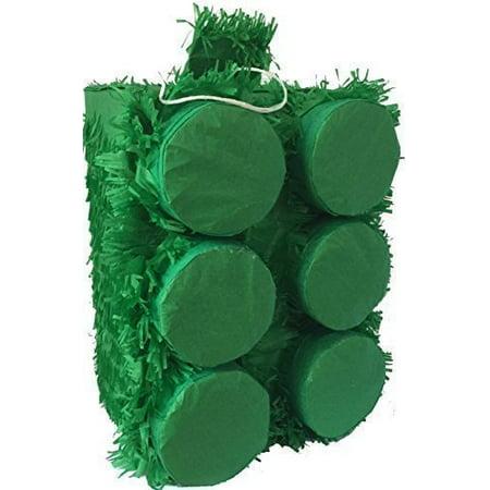 Large Pinata (Large Green Brick Pinata for Building Block)