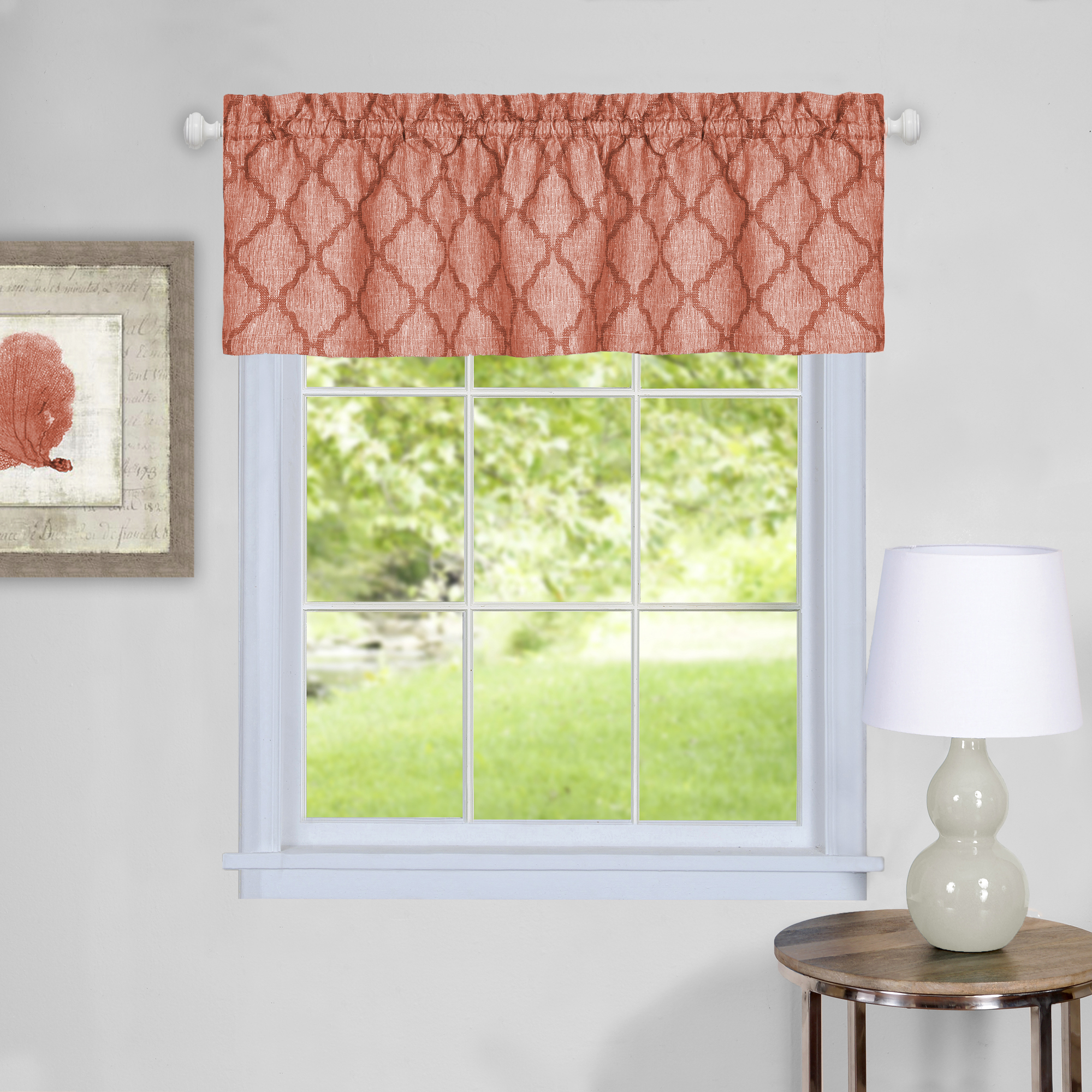 Colby Window Curtain Valance by Achim Importing Co. Inc