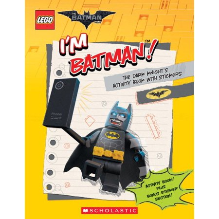 I'm Batman! the Dark Knight's Activity Book with Stickers (the Lego Batman - Sticker Activity Pack