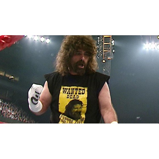 ce04c347c WWE - WWE CACTUS JACK WANTED DEAD OR ALIVE T-SHIRT MENS WRESTLING ...