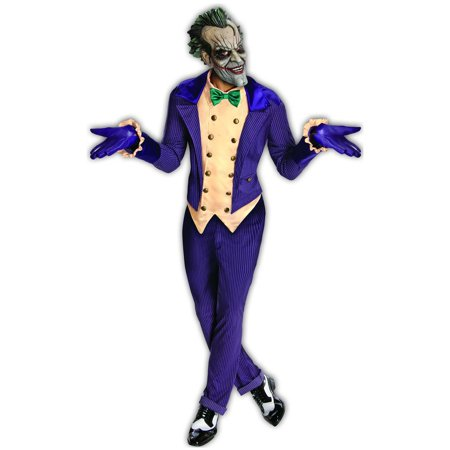 Batman Arkham City Adult Halloween Costume, Size: Men's - One Size - Gladiator Halloween Costume Party City