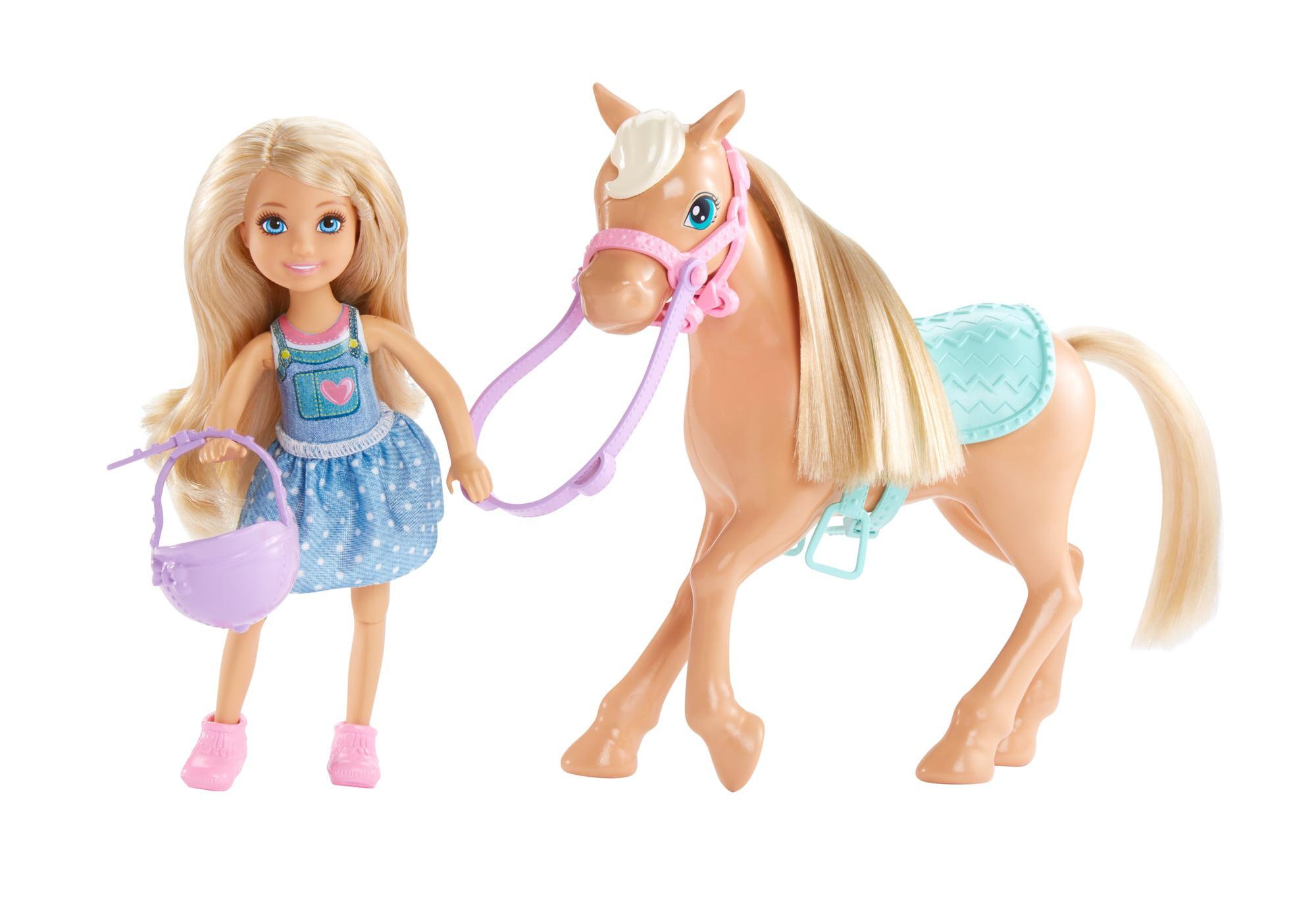 Barbie Club Chelsea Dolls & Horse by Mattel