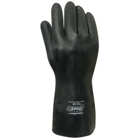 SHOWA BEST 723 09 Chemical Resistant Glove,Sz