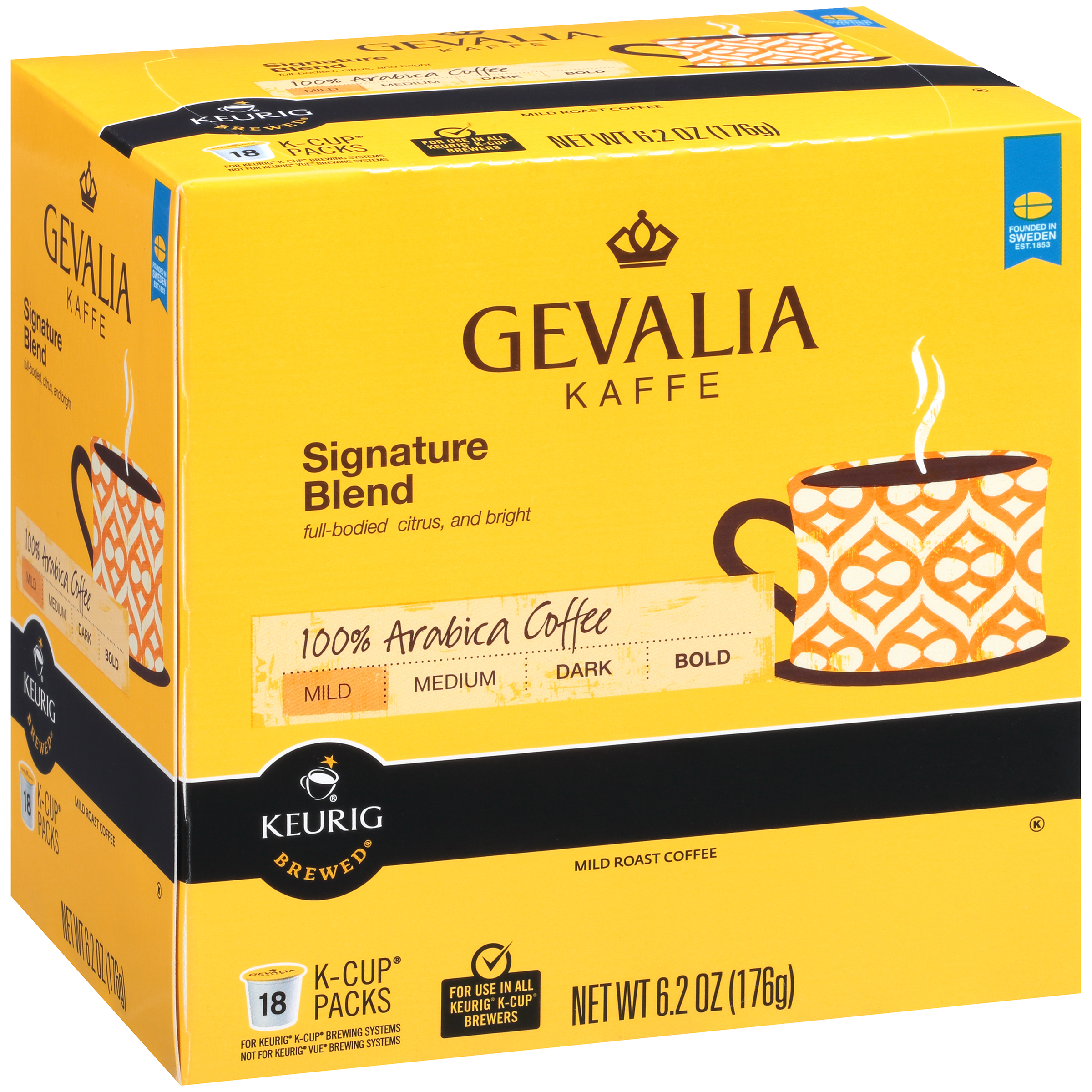 Gevalia Signature Blend Coffee K-Cup�� Pods 18 ct Box