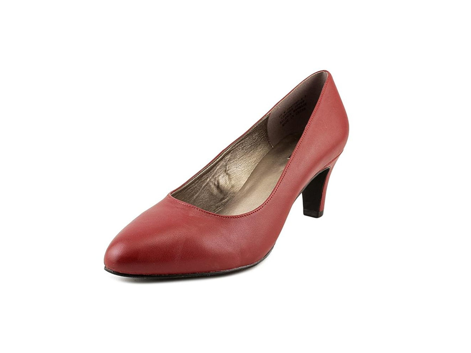 Array Donna Rose Pelle Pointed Pumps, Toe Classic Pumps, Pointed , 093026