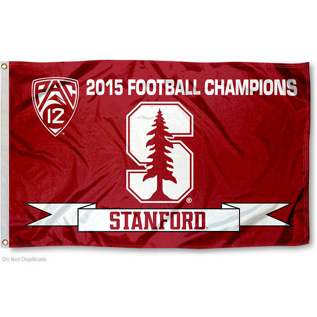 Stanford Cardinal 2015 PAC 12 Champs 3' x 5' Pole Flag