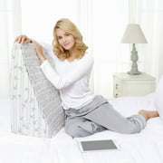 Wedge Memory Foam Pillow with Removable Cover