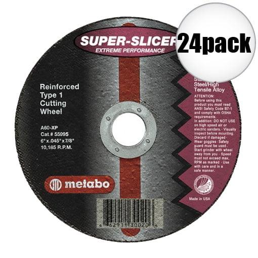 """Metabo 55994 4.5x045x7/8"""" Super Slicer 24-Pack"""