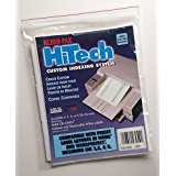 Custom Sticker Labels (KLEER-FAX (23054) HI-TECH 3-Tab-Cut Custom Index & Label System, 9 x 11 Inches - 5 Sets of 3 with)