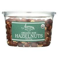 Aurora Natural Products Organic Raw Hazelnuts, 9 Oz, Pack Of 12