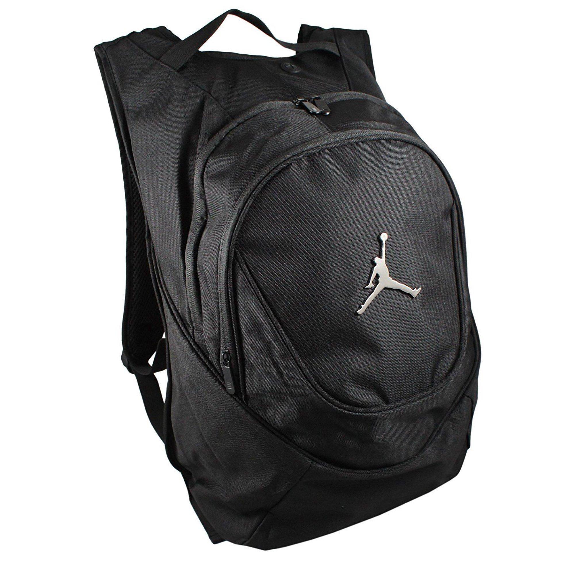 b635442629 Buy Nike Jordan Jumpman 23 Round Shell Style Backpack - Black ...