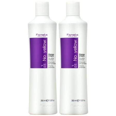 Fanola No Yellow Shampoo 350ml / 11.83oz (Pack of