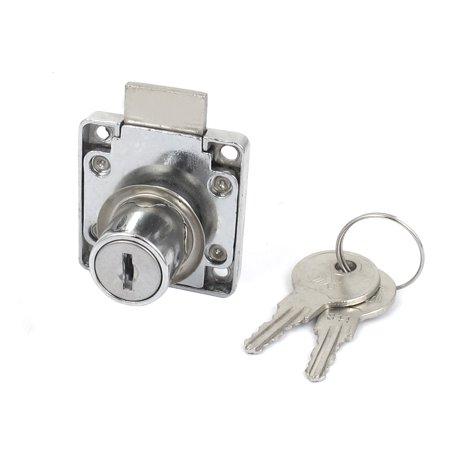 Glass Cupboard Single Door Cabinet Lock and Key Cylinder Head Rim Security Locking