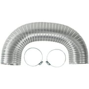 Certified Appliance Accessories 77014 Dryer Duct, 5ft