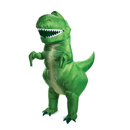 Toy Story Rex Inflatable Costume for - T Rex Toy Story Costume