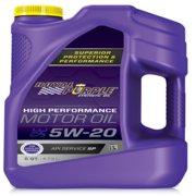 Royal Purple SAE Multi-Grade Synthetic Motor Oil 5W20 (5 Quart)
