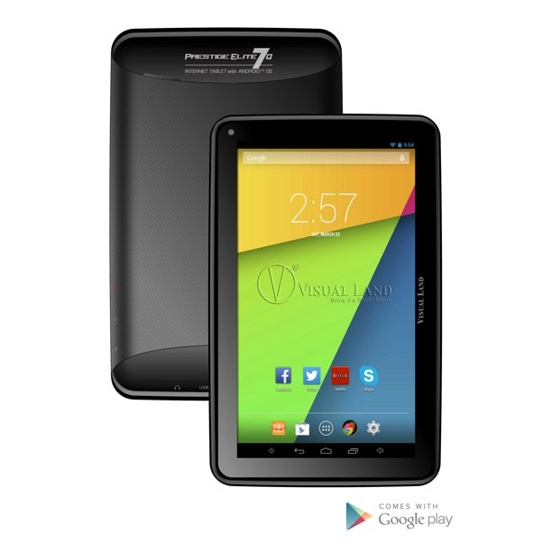 "Visual Land Prestige 7"" Quad Core Tablet 8GB Android OS"