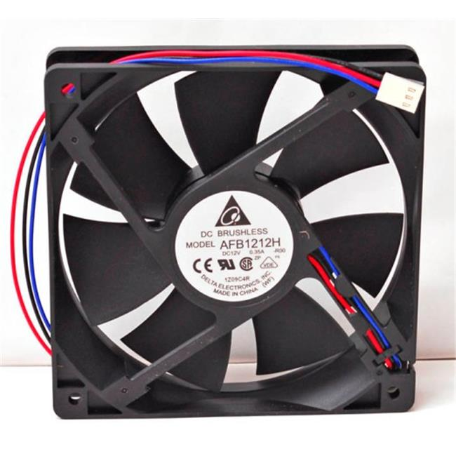Delta 23-1225-06 120 x 120 x 25 mm. Ball Bearing Fan With Lock Motor Sensor
