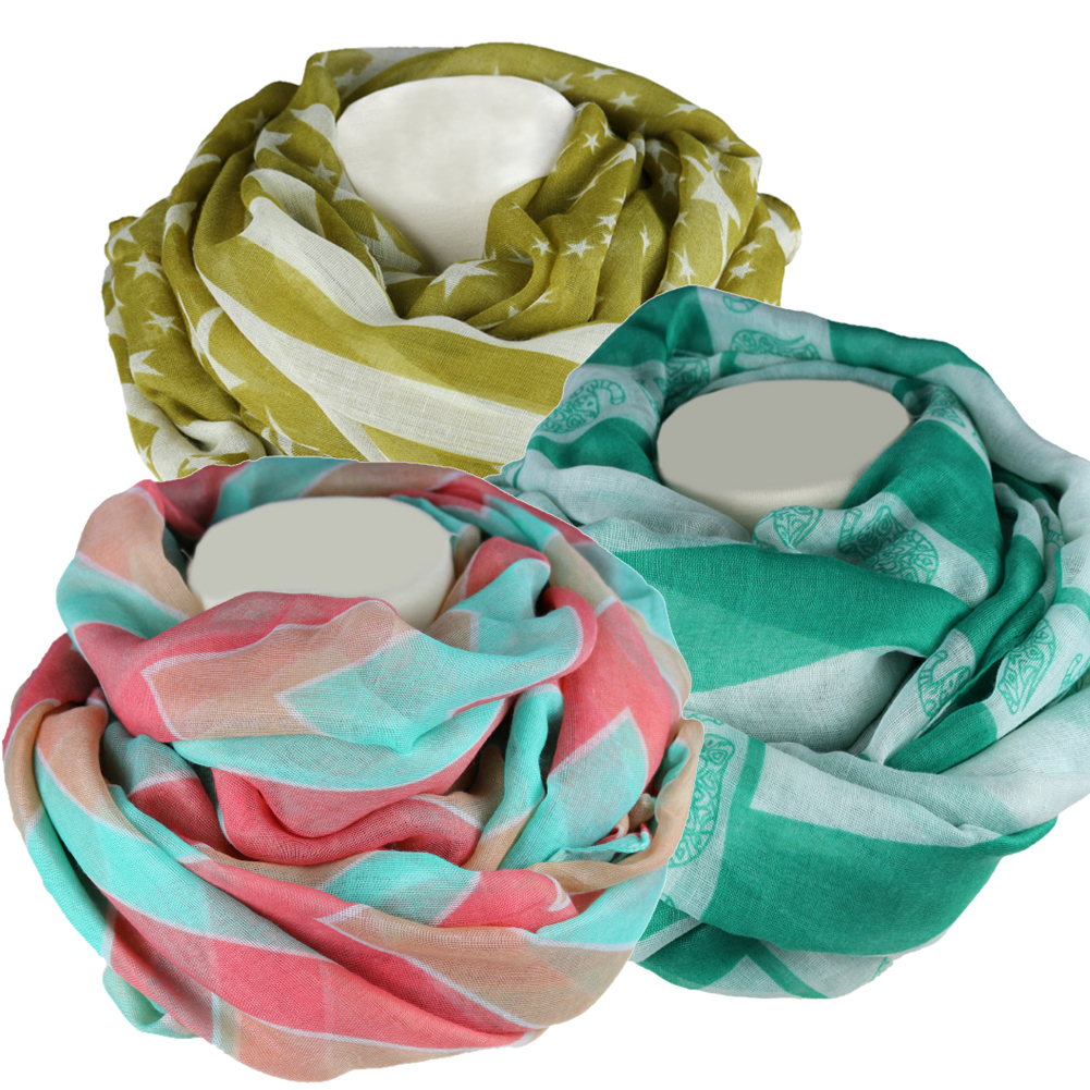 The Elixir Light Soft Scarves Fashion Scarf Shawl Wrap for Fall Winter