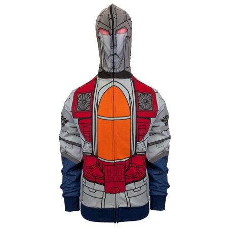 Transformers - Mr. Scream Costume Zip Hoodie - Transformer Costumes For Adults