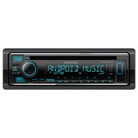 Kenwood KDC Single DIN AM/FM Stereo Radio USB AUX CD Player Receiver with Remote Controller