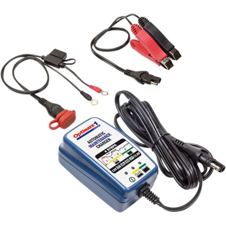 Optimate TM-409  6 Amp Lithium LiFe PO4 / LFP Battery Charger / Maintainer  - Works with ALL 12 Volt Lithium Batteries