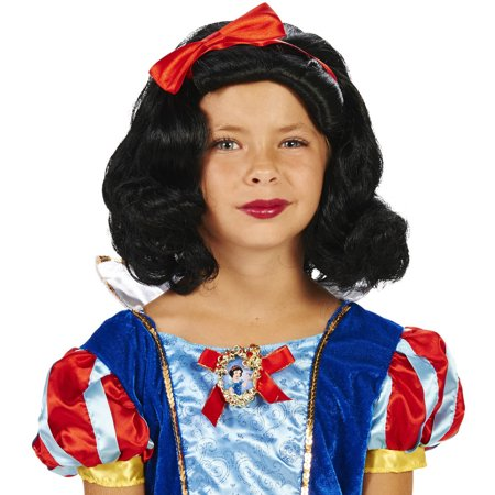 Snow White Child Wig Halloween Accessory - White Wigs Halloween
