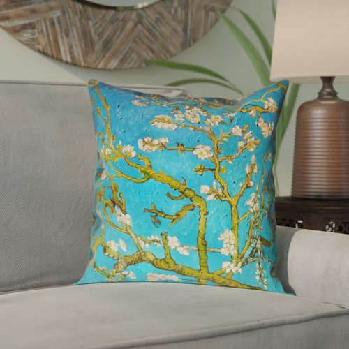 Bloomsbury Market Lei Almond Blossom 100pct Cotton Pillow Cover