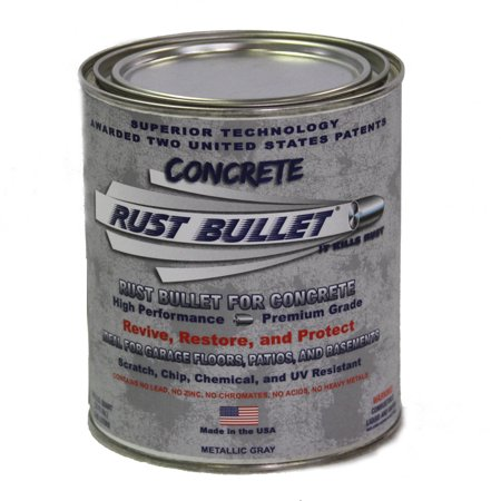 Rust Bullet For Concrete, Protective Floor Coating, -