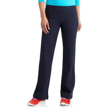Petite Length - Danskin Now Women's Dri-More Core Bootcut Yoga Pants available in Regular and Petite