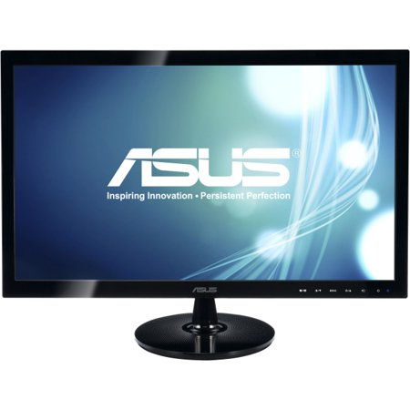 Asus Vs228h P 21 5   Led Lcd Monitor   16 9   5 Ms   Adjustable Display Angle   1920 X 1080   16 7 Million Colors   250 Nit   50 000 000 1   Full Hd   Hdmi   Vga   25 W   Black   Weee  Energy Star  Roh