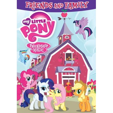 My Little Pony Friendship Is Magic: Friends & Family (DVD) (Happy Halloween To My Friends And Family)