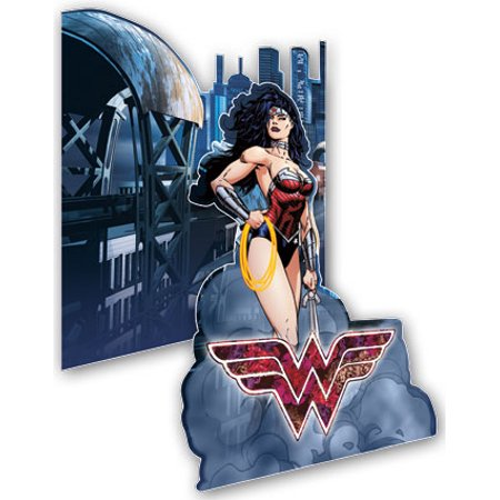 - Screne Maker - DC Comics - Wonder Woman Stand Display Card New sm12307