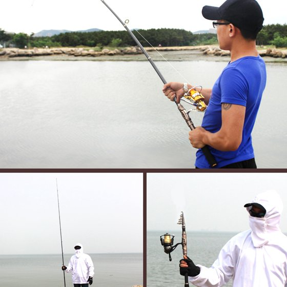 Telescopic Fishing Rod Saltwater Travel Spinning Fishing Rods Poles Retractable Fishing Pole Rods Size:3.0M(9.84Ft) - Walmart.com