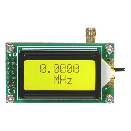 DIY High Accuracy And Sensitivity 1~500 MHz Frequency Meter Counter Module Hz Tester Measurement Module LCD Display - image 6 of 7