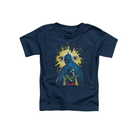 Toddler: Batman & Robin- The City Is Watching Baby T-Shirt](Batman And Robin Baby Grow)