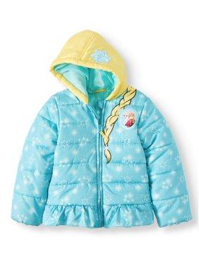 Disney Frozen Toddler Girl Costume Winter Jacket Coat