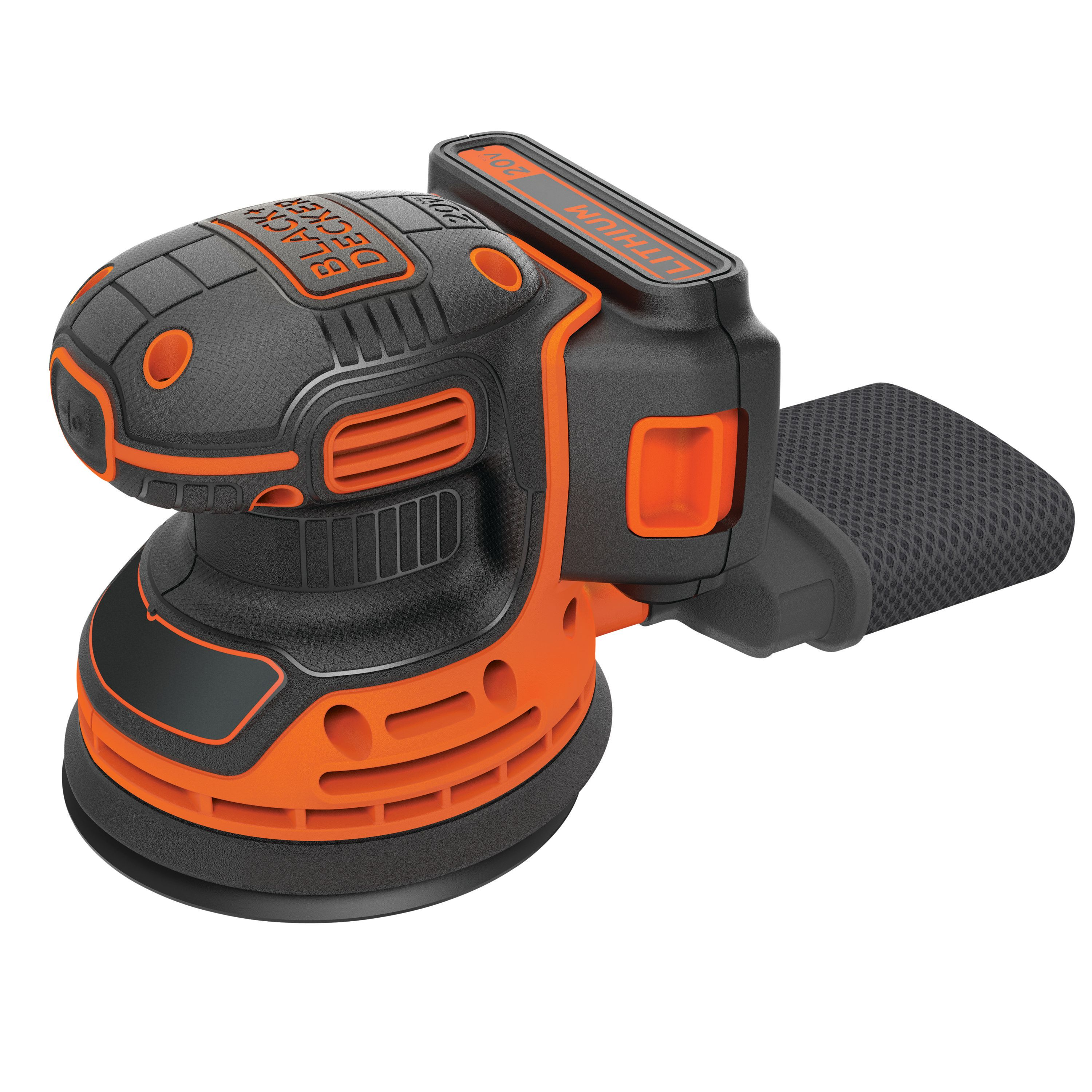 Black & Decker BDRO20C 20V MAX Cordless Random Orbit Sander by Stanley Black & Decker