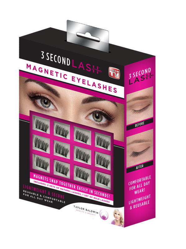 As Seen On TV 3 Second Lash Magnetic Eyelashes