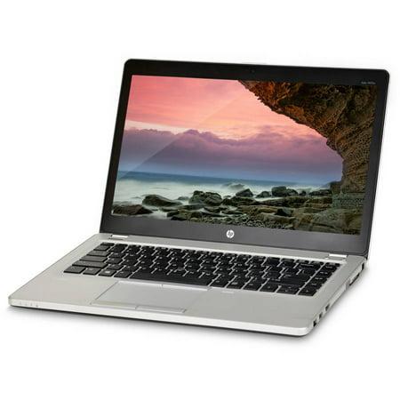 "Refurbished HP EliteBook Folio 9470M 14"" Laptop, Windows 10 Home, Intel Core i5-3427U Processor, 4GB RAM, 500GB Hard Drive"