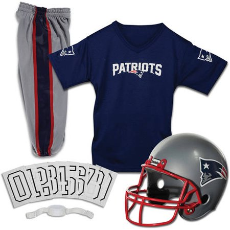 Franklin Sports NFL Youth Deluxe Uniform/Costume Football Set (Choose Team and Size) - Youth Football Costumes