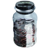 Coin Counting Jar - Sharper Image