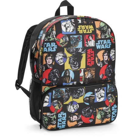 Star Wars Classic 16in All Over Print Kids Backpack](Star Wars Backpacks For School)