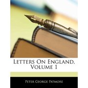 Letters on England, Volume 1