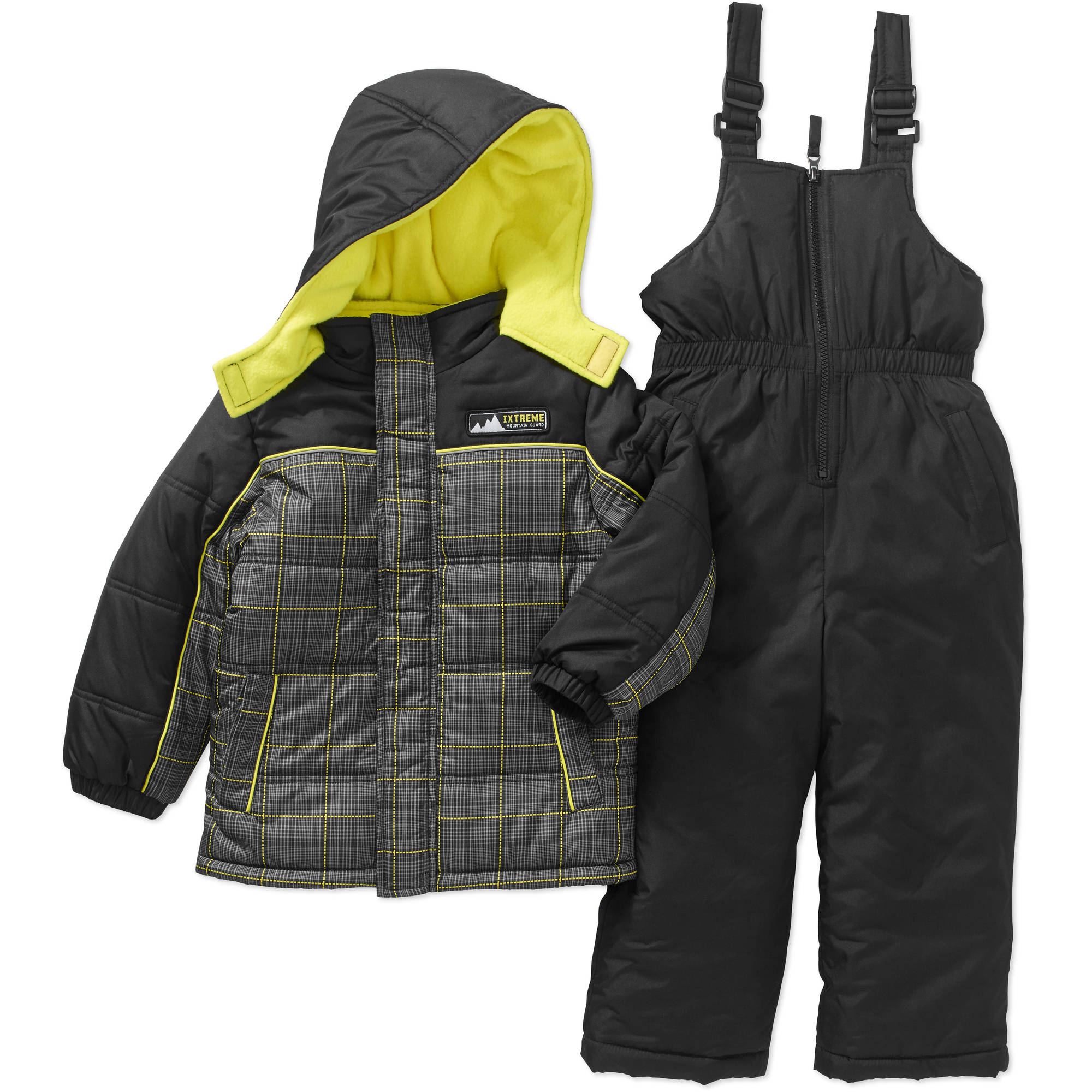 IXtreme Toddler Boy Hooded Jacket and Bib Ski/Snowboard 2-Piece Snowsuit