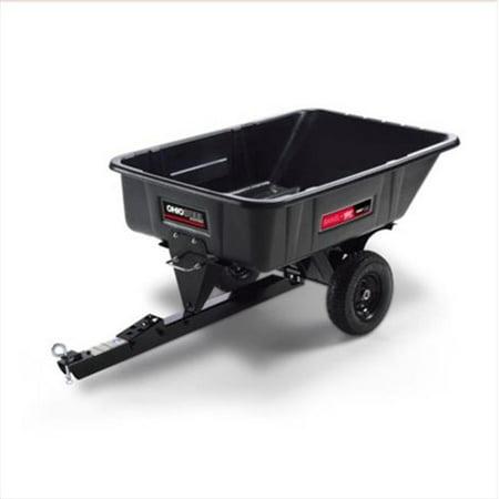 10 cu. ft. 180 Swivel Dump Cart, 600 lb.