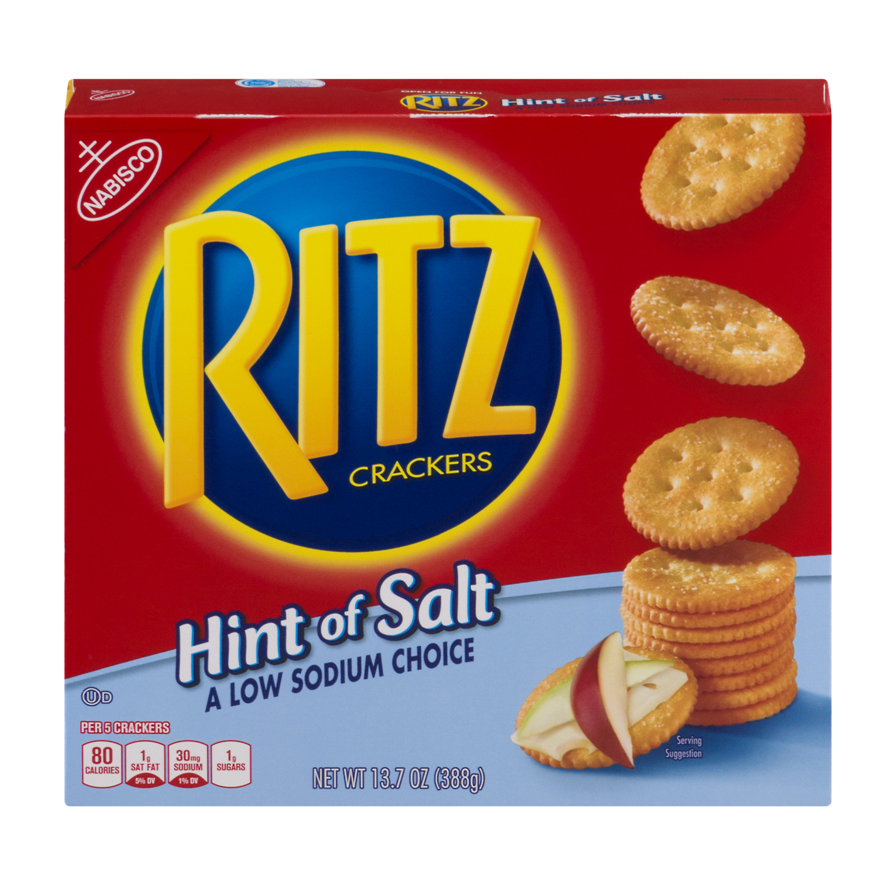 Nabisco Ritz Crackers Hint Of Salt, 13.7 OZ