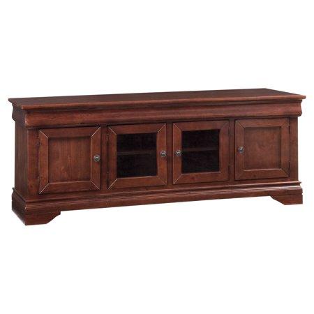 "Console Table-Finish:Auburn Cherry,Size:74""L x 17""W x 28""H"